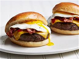 Foto Bacon-eggburger